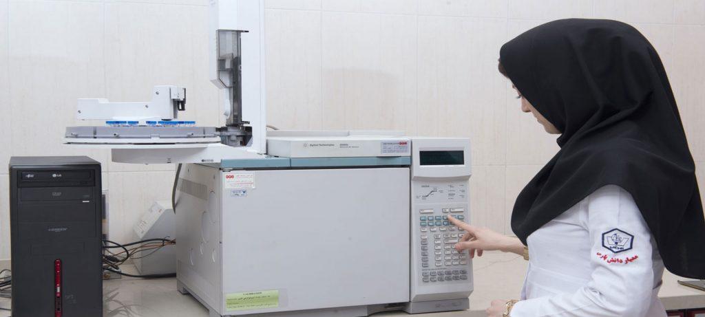 آزمایشگاه کروماتوگرافی گازی